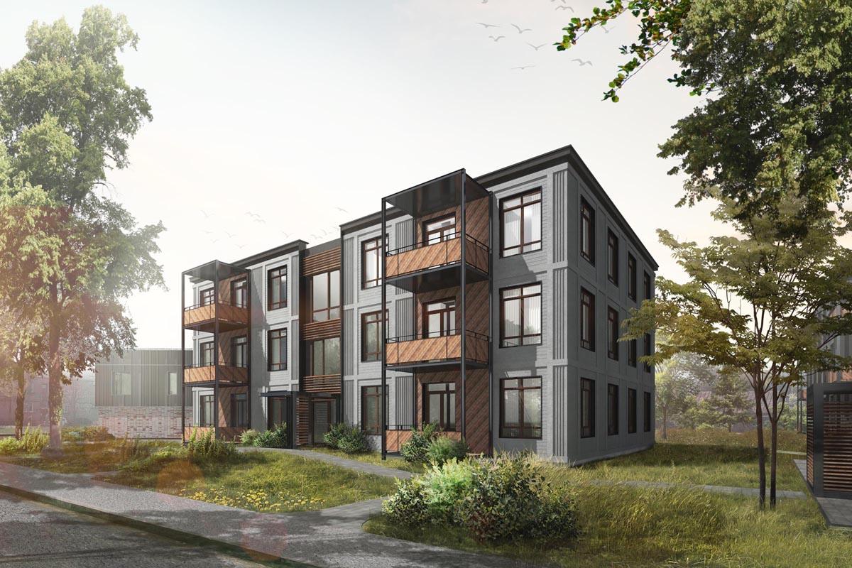dzīvojamā māja projekts Teeja arhitekti