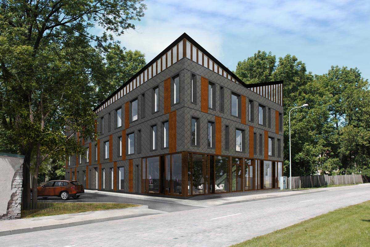 Dzīvojamā māja projekts Prāmju iela 3 Ventspils