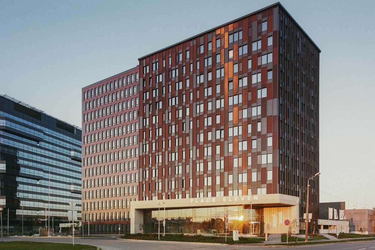 Biroju ēka projekt Place Eleven